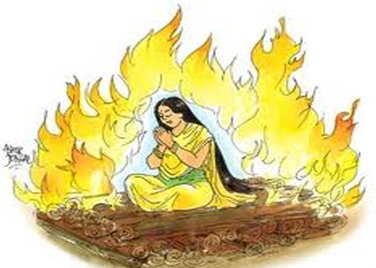 Sati Pratha: The Burning of Widows