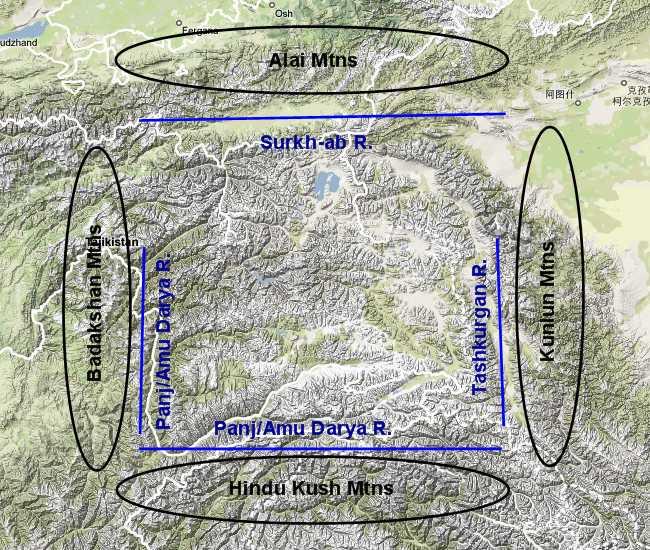 Pamir Boundaries