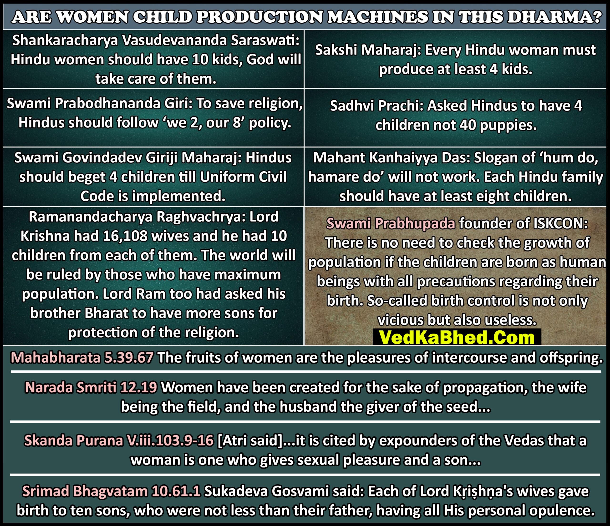 Hinduism and Overpopulation